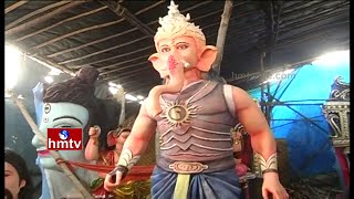 Baahubali Movie Effect | Vinayaka Idols turns As Kattappa, Prabhas, Ramya Krishna | HMTV Special