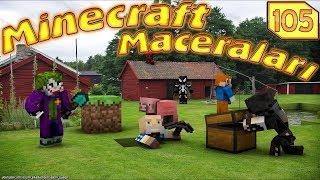 ÖRÜMCEK BEBEK ROBOT İBİŞLE KARŞILAŞIYOR (Minecraft Maceraları 105)