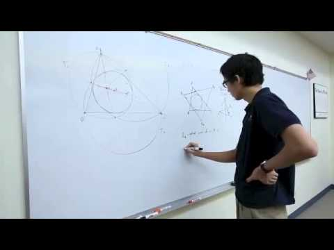 Math gold medalist talks about the art of math