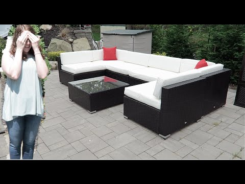 SURPRISE OUTDOOR PATIO SET!