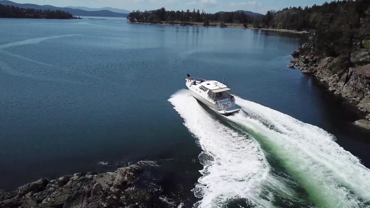 40 ft Tiara Express - Boat Pass, Saturna Island