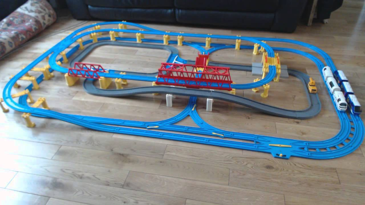 thomas the train plastic track instructions