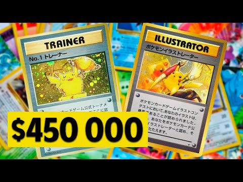 The Most EXPENSIVE POKEMON Cards 💰