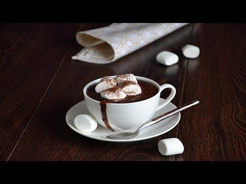 Густой горячий шоколад ☕ Домашний горячий шоколад рецепт