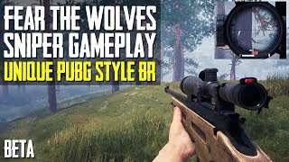 NEW Unique PUBG Style BR | Fear The Wolves SNIPER GAMEPLAY | Closed Beta | Squads