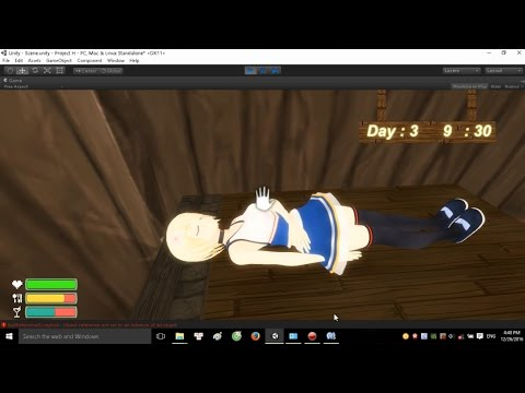 [Unity3D] Sweet Island - Survival H-game Project Update #1 !