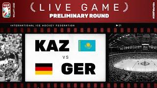 Kazakhstan - Germany| Live | Group B | 2021 IIHF Ice Hockey World Championship
