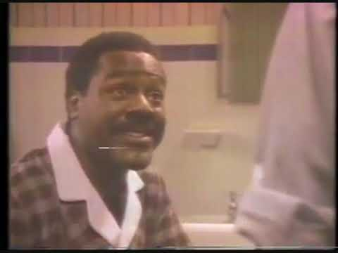 Crest Toothpaste Ad with Frankie Faison 1982