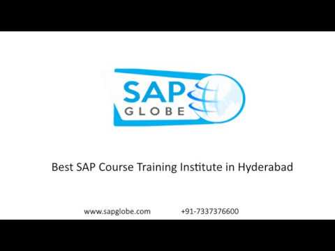 SAPGlobe - Top SAP Course Training Institute in Madhapur,Ameerpet,Hyderabad