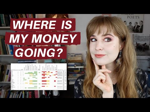 HOW I'M KEEPING TRACK OF WHO GETS MY MONEY | Hannah Louise Poston | MY BEAUTY BUDGET