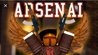 playing arsenal in roblox