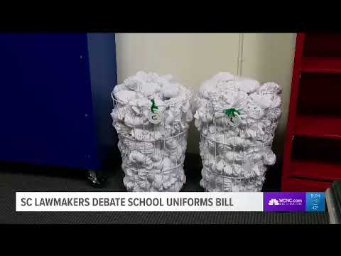 Should students be required to wear uniforms? One South Carolina lawmaker says yes!
