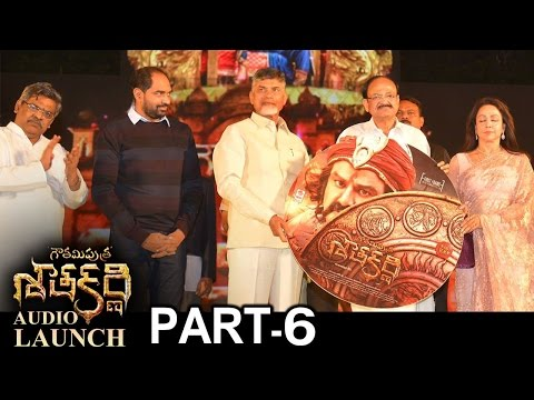 Gautamiputra Satakarni  Launch Part 6  Balakrishna  Krish  Lahari   T-Series