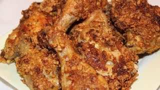FRIED CHICKEN - VIDEO RECIPE | HOW - TO COOK FRIED CHICKEN WITH CORNFLAKES