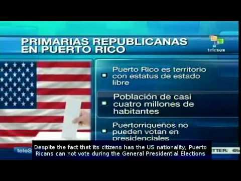 Republican primaries in Puerto Rico