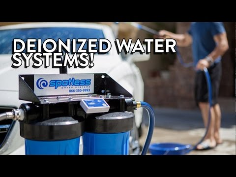 Using Deionized Water to Wash Your Car