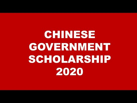 Apply for Chinese Government Scholarship 2019 With all Files  | Master & PHD | URDU |