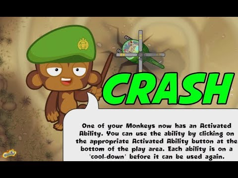 Special Mission - CRASH - Bloons Monkey City