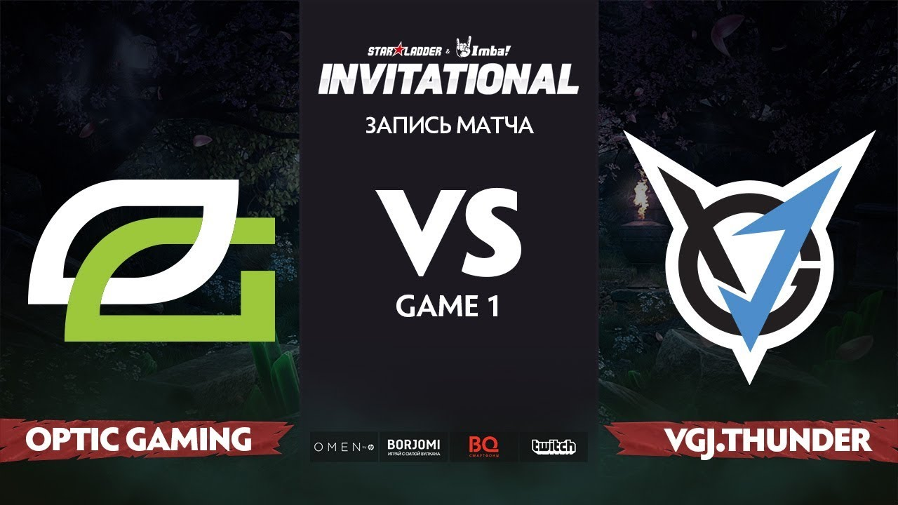 OpTic Gaming против VGJ.T, Первая карта, Grand Final StarLadder Imbatv Invitational S5 LAN-Final