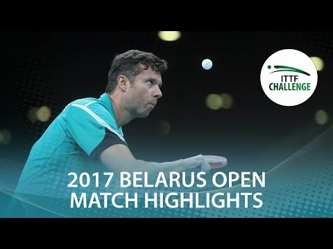2017 Belarus Open Highlights: Vladimir Samsonov vs Tomasz Lewandowski (R32)