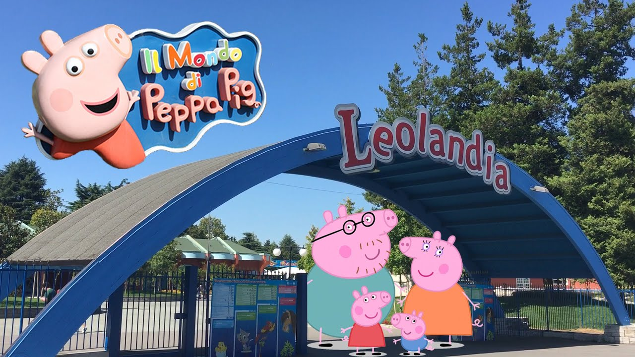 Il mondo di Peppa Pig  Leolandia Minitalia 2016  YouTube
