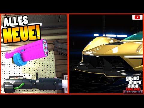 🙌ALLE Neuen Inhalte! Waffen, Rabatte Und Mehr!🙌[GTA 5 Online Arena War Update DLC] thumbnail