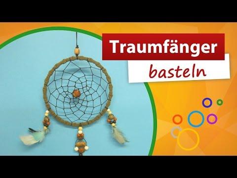 Traumfänger Bastelanleitung 🌺 Trendmarkt24 Bastelideen