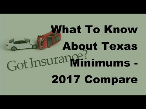What To Know About Texas Minimums  - 2017 Compare Car Insurance