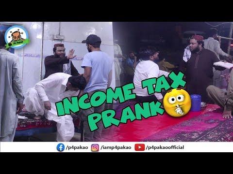 | INCOME TAX PRANK | By Nadir Ali In | P4 Pakao | 2019
