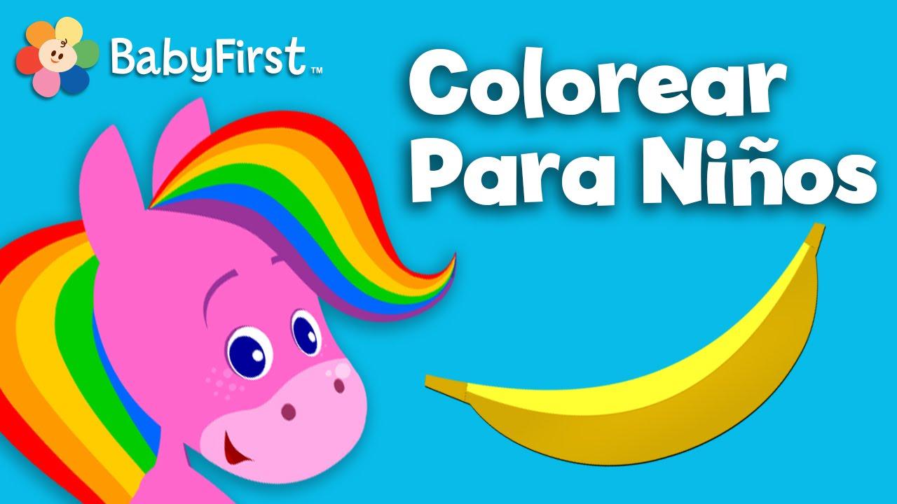 Colores para Niños | El Caballo Arcoiris | Dibujos Animados para ...