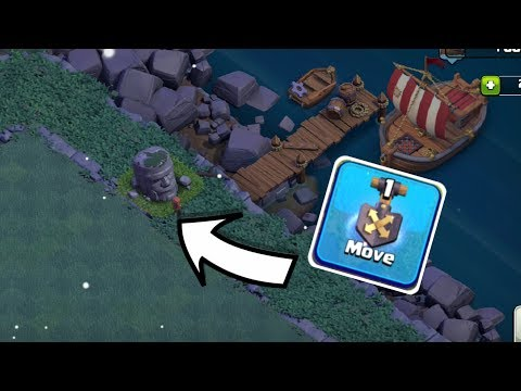 LET'S MOVE THIS BARB STATUE IN DOCK SIDE, CLASH OF CLANS INDIA.