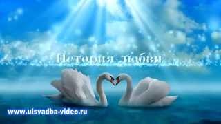 Футаж Клятва жениха и невесты