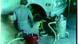 Asbestos Control When Changing Brake Shoes 1980 US Navy