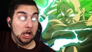 THE BROLY HYPE IS REAL!! | Kaggy Reacts to Dragon Ball Super Broly | FULL FAN MOVIE | English DUB