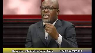 ACTUALITÉ EN RDC THIERRY MUKELEKELE RÉPOND AUX QUESTIONS