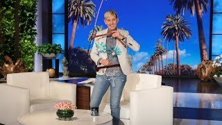 Ellen Reveals Her New Swimsuit Line