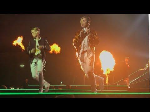 Marcus & Martinus- Elektrisk+Intro (Royal Arena, Copenhagen)