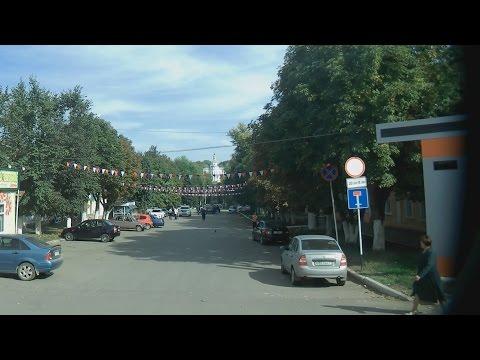 . Богородицк. Экскурсия по городу на автобусе (Тульская область)