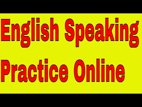 English Speaking Practice Online Through Skype With An Indian English Teacher!