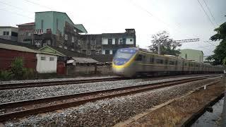 迴送列車通過大林鎮中興路地下道