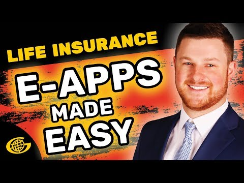 Online Life Insurance Application Tutorial
