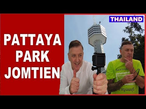 Pattaya Park & Beach Walk in Jomtien