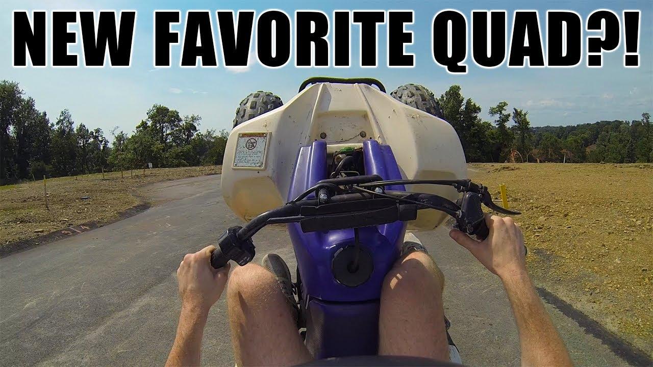 SUZUKI lt80 FIRST RIP!! (Wheelies, Riding, & Hillclimb?) - YouTube