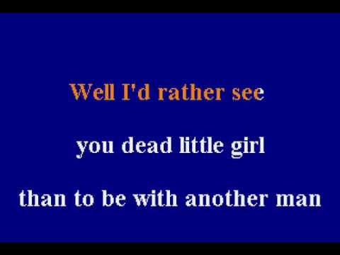The Beatles -  Run For Your Life - Karaoke