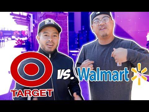 Double outfit challenge! TARGET VS WALMART! | Budget Battles |