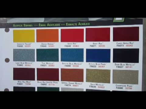 Pitmaker Standard Paint Color Examples