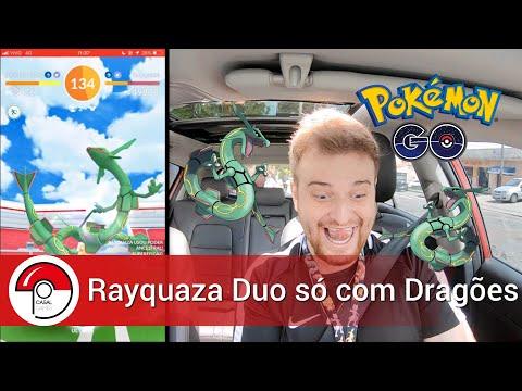 Rayquaza Duo só com Rayquaza - Pokémon GO thumbnail