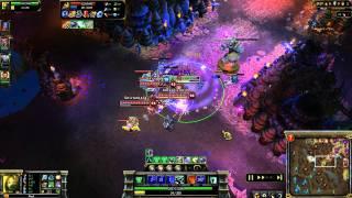 Играем в League of Legends - Основы(Играю на сервере EU West Бесплатная регистрация: http://goo.gl/dcGaU., 2011-07-25T07:51:39.000Z)