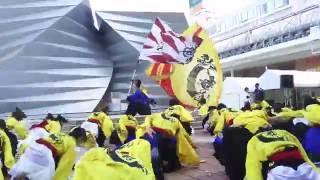 秋田大学よさこいサ-クル よさとせ歌舞輝さん アゴラ広場で行われた 秋...