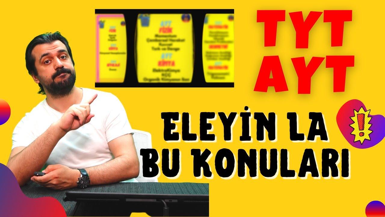 Eleyin La Bu TYT AYT Konularını! #TYT #AYT #YKS